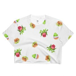 Plants! Plants! Plants! Crop Top