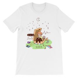 16​/​04​/​16 – cavetown album themed Short-Sleeve Unisex T-Shirt