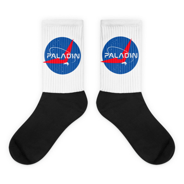 Paladin Voltron Nerdy Socks Parody