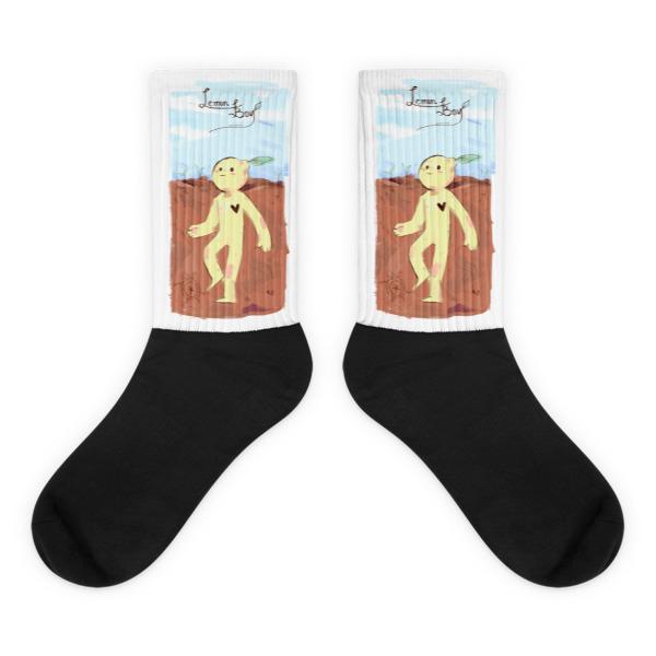 Lemon Boy Socks Cavetown