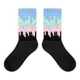 Kawaii Pastel Slime Sprinkle Socks